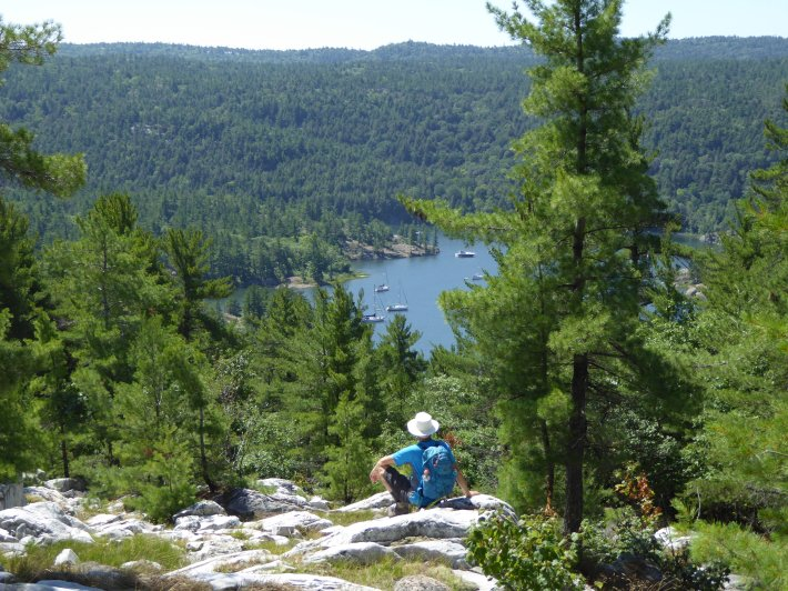 Hike to view of the Pool