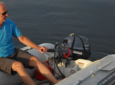 New dinghy motor!