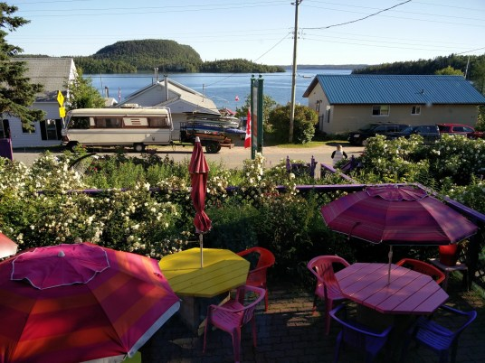 Serendipity cafe, Rossport