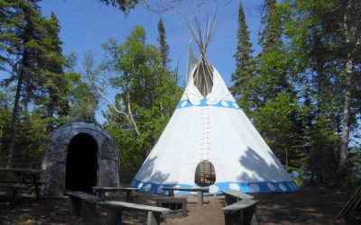 Grandkids Corner: Tilly and the Teepee