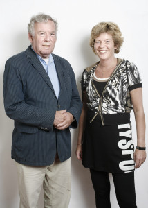 Ad Lansink en Hannet de Vries-in 't Veld, auteurs van De Kracht van de Kringlooop