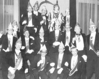Ex-Prinsen bij de Proclamatie van Winfried I in 1980