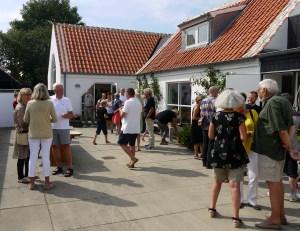 Binnenplaats van M.galleri in Skagen