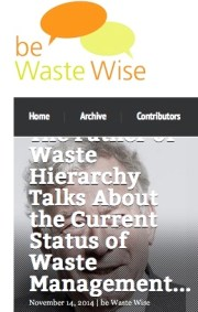 De antwoorden van 'The father of waste hierarchy'