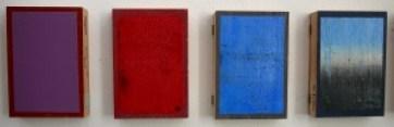 Alexander Bobkin Studies op weg naar non-figuratief werk