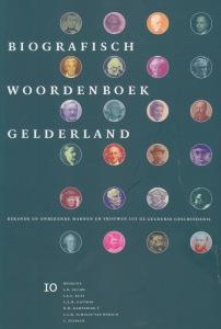 Boekomslag Deel 10 Biografisch Woordenboek Gelderland
