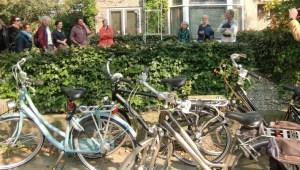 Fietsen met Coen Vernooy langs Groesbeekseweg in Nijmegen