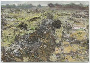 Han Klinkhamer, Zonder titel, Olieverf op linnen (2012), 50 x 35 cm