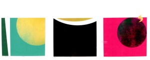 Adieu - Black Friday - Farewell: Drie zeefdrukken van Ted Felen ter nagedachtenis aan zijn moeder