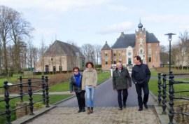 'Bolcken' op de terugweg: vader, zoon, echtgenote en tante (Foto: Bert Jan Nijhuis)