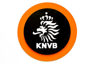 Logo van de KNVB (Bron:.ANP - Koen van Weel