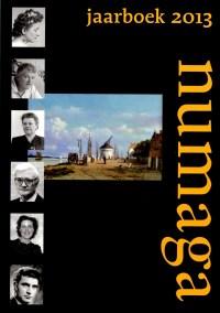 Omslag Numaga Jaarboek 2013, waarin opgenomen Nijmeegse Biografieen 3 (2013)