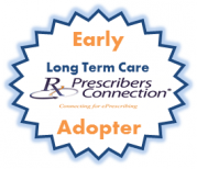 PrescribersConnection Early LTC Adopter Seal