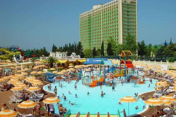Аквапарк «Амфибиус» – райское место под солнцем. Фото ...