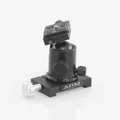 ADM Accessories | D Series | Dovetail Camera Mount | DBCM | DBCM- D Series Ballhead Camera Mount | Image 1