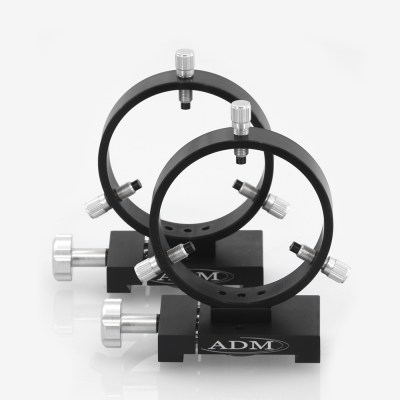 ADM Accessories | D Series | Dovetail Ring | DR100 | DR100- D Series Ring Set. 100mm Adjustable Rings | Image 1