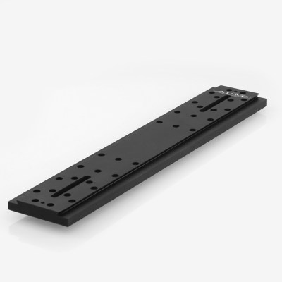 ADM Accessories | D Series | Universal Dovetail Bar | DUP21M | DUP21M- D Series Universal Dovetail Bar. 21″ Long, 60mm Spacing | Image 1
