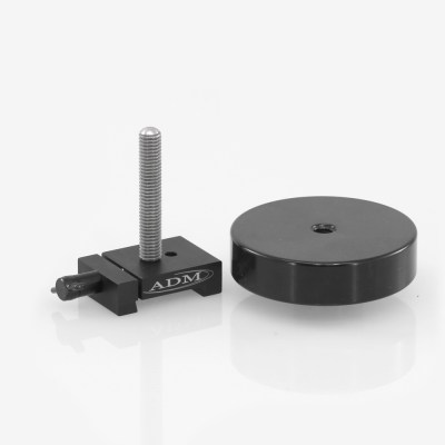 ADM Accessories | V Series | Dovetail Counterweights | VCW-S | VCW-S- V Series Counterweight with 3″ Threaded Rod | Image 1