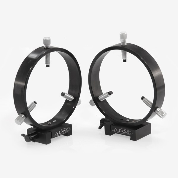 ADM Accessories   V Series   Dovetail Ring   VR125   VR125- V Series Dovetail Ring Set. 125mm Adjustable Rings   Image 1