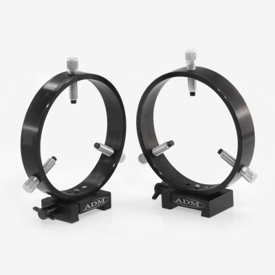 ADM Accessories | V Series | Dovetail Ring | VR125 | VR125- V Series Dovetail Ring Set. 125mm Adjustable Rings | Image 1