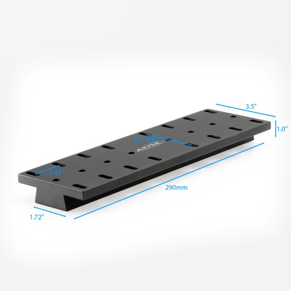 ADM Accessories | V Series | Universal Dovetail Bar | VWO290 | VWO290- V Series Universal Dovetail Bar. 290mm Long | Image 3