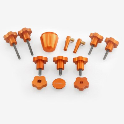 ADM Accessories | Miscellaneous | Thumb Screws - Hand Knobs | AVX-OR-S | Celestron AVX Knob Upgrades - Orange | Image 1