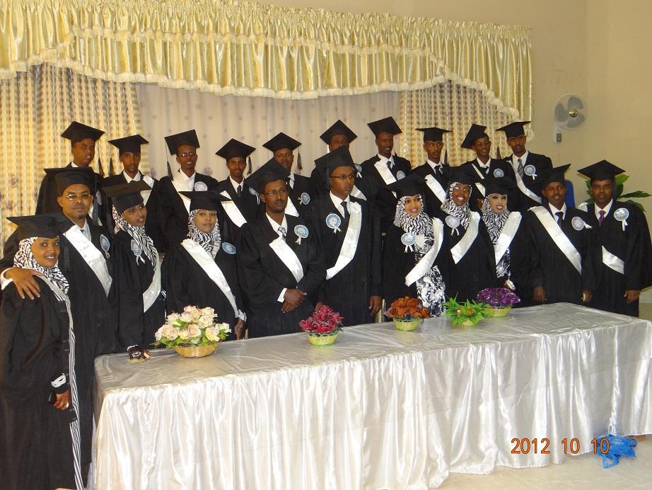 Madaxweyne ku xigeenka Somaliland oo shahaadooyin Gudoonsiiyey 513 arday oo qalinjabiyey Jaamacadda Admas University
