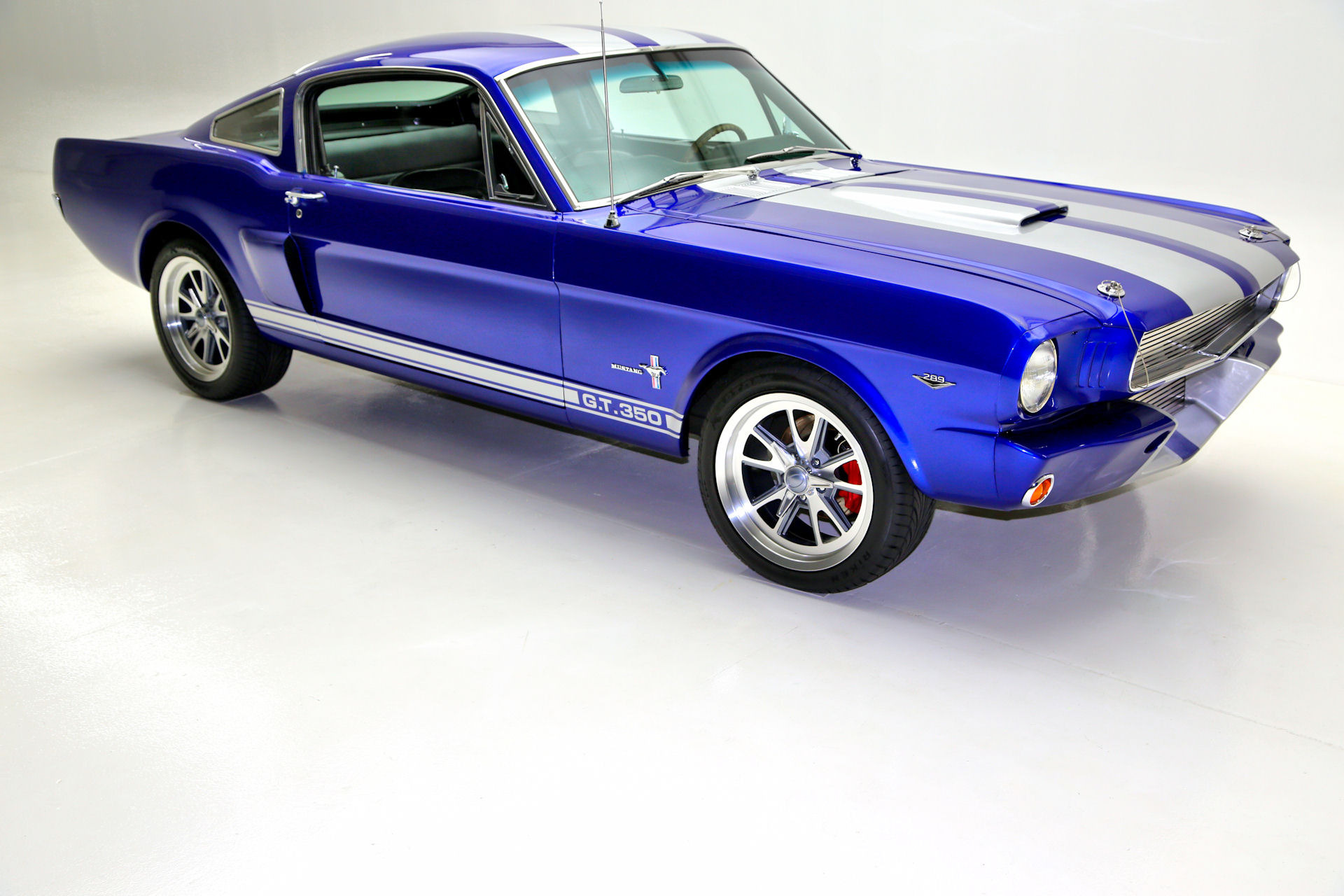 1965 Ford Mustang Electric Blue GT350 options   American Dream     1965 Ford Mustang Electric Blue GT350 options