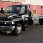 2003 Chevrolet 5500 Black Rollback Tow Truck Flatbed Duramax Diesel Aluminum Bed
