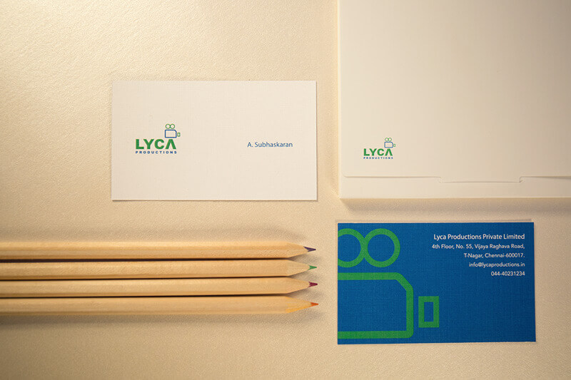 Indian Graphic Artists: Gopi Prassana's LYCA Branding