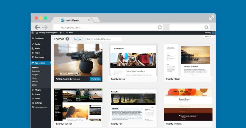 Free Blogging Site: WordPress