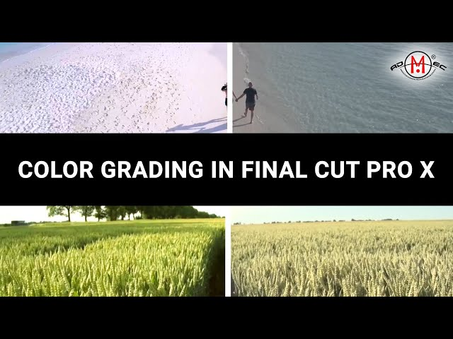 Color Grading using FCPx