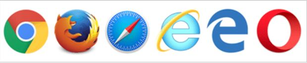 Different Browsers