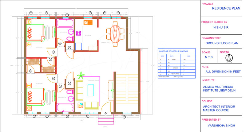 Home Interior Drafting