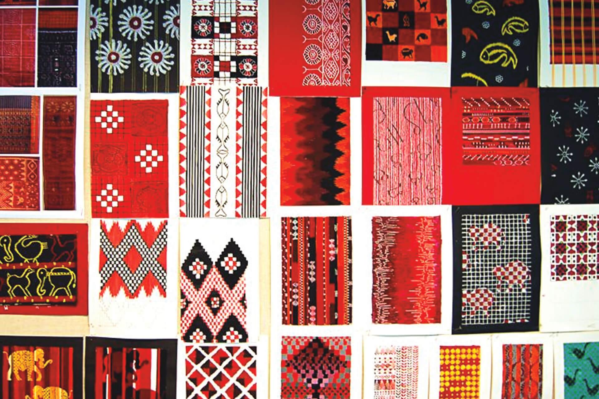 Textile Design Work Portfolio