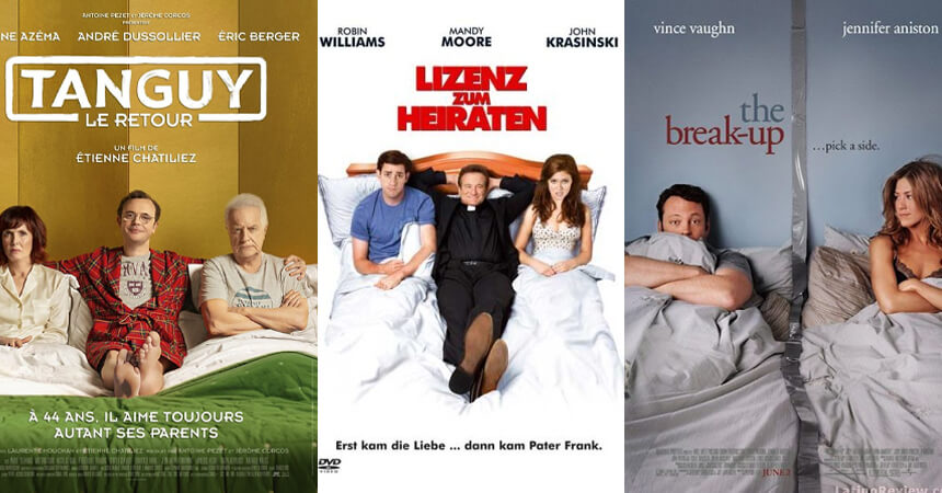 In bed movie posters