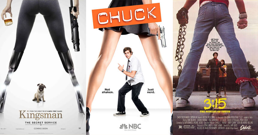 Through the Legs Movie Posters