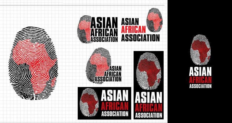 Indian Graphic Artists: Akshar Pathak's Asian African Association Logo