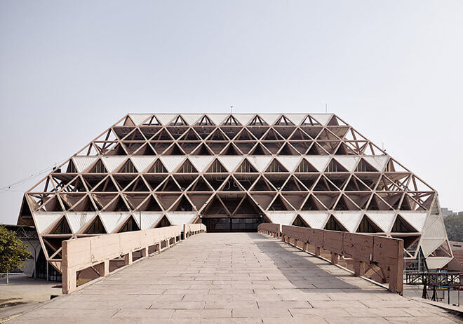 Top 10 Architects in India: Hall of Nations - Pragati Madan