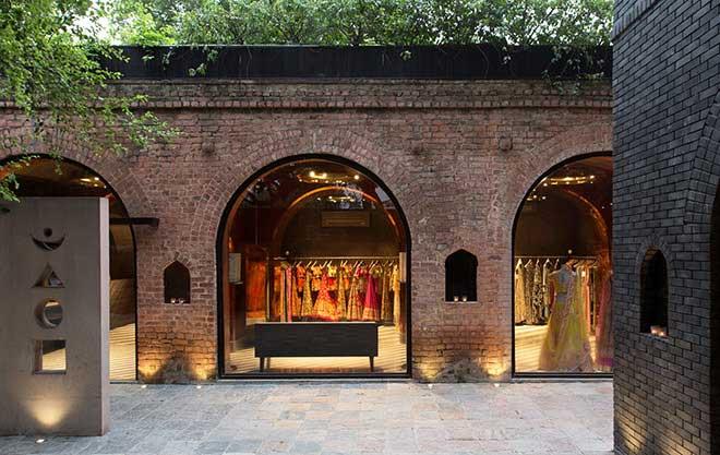 Top 10 Architects in India: Carma Fashion Store in New Delhi