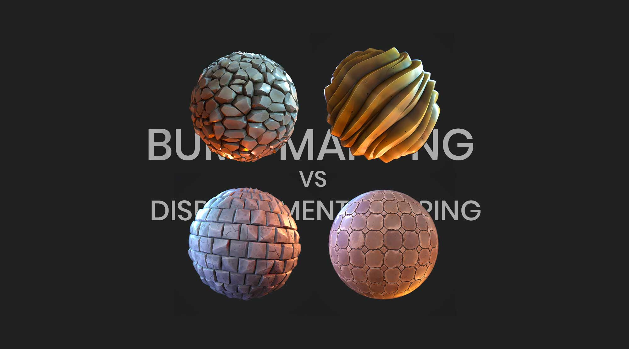 3Ds Max Training Institute - Learn Bump Mapping and Displacement Mapping