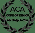 My Ethics Pledge to You (ACA Code of Ethics)