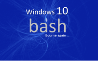 Bash in Windows 10