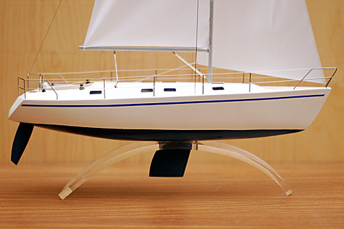 Admiral Company Scale Model Of Sailing Yacht Dufour 43