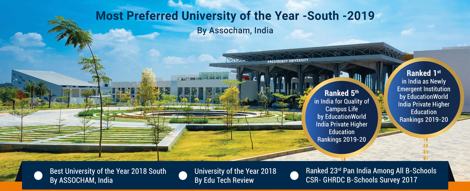 preferred University of the year