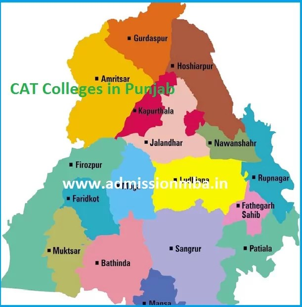 MBA Colleges Accepting CAT score in Punjab