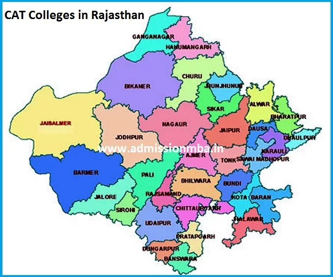 MBA Colleges Accepting CAT score in Rajasthan