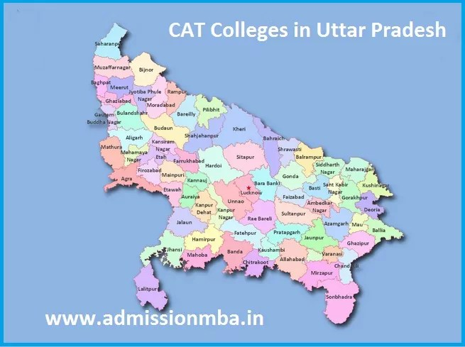 MBA Admission through CAT Top MBA Colleges Uttar Pradesh