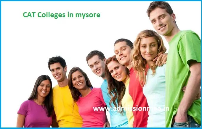 MBA Colleges Accepting CAT score in mysore