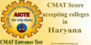 MBA Colleges in Haryana accepting CMAT Score